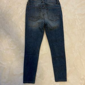 JustFab Jeans - NWT Justfab Cropped Ankle Denim Pearl Jeans sz 28